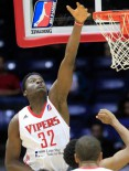 Clint Capela posts 35 points, 15 rebounds, 6 blocks vs. the Legends, 3/25/2015